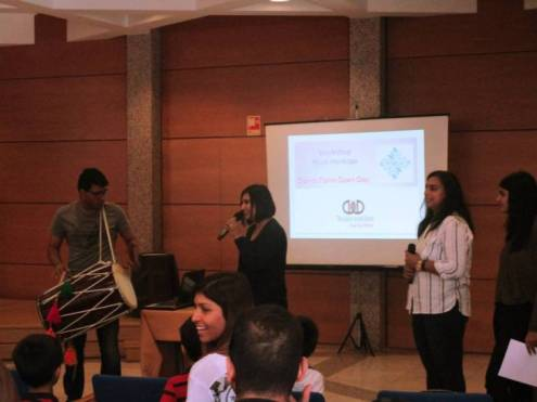Lisbon Ismaili Band conducts a musical workshop