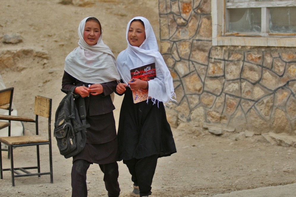 Our DFID-funded girls_ education programme in Afghanistan is supporting 300,00 girls to get to school and stay in school for longer.