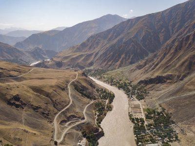 The Afghan-Tajik border region