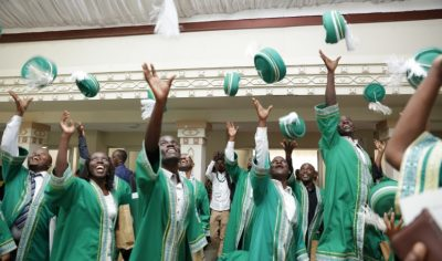 The convocation ceremony was attended by graduating students, their families, faculty, university partners and government officials.