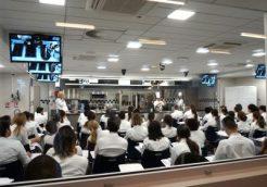 Cours de cuisine à l'école le Cordon Bleu Paris